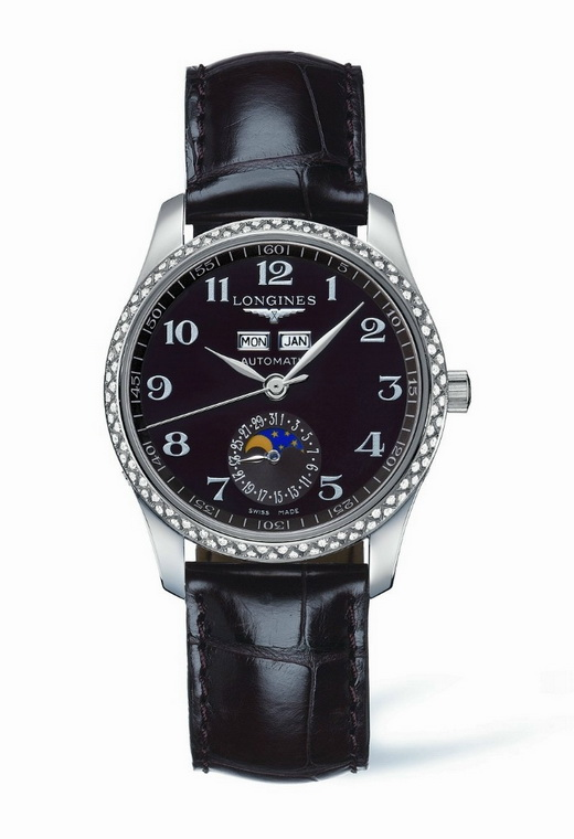 Longines Master Moonphase Lady