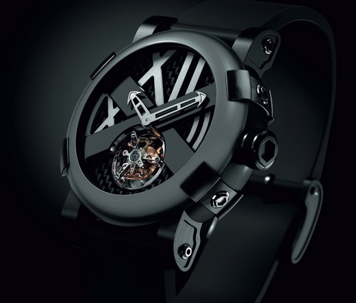 Romain Jerome Five Black Tourbillon