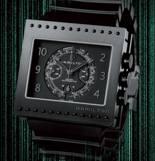 Hamilton Code Breaker All Black Chronograph