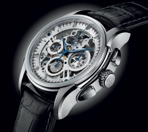 Hamilton Skeleton Chronograph