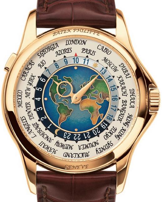 Patek Philippe World Time Enamel Dial