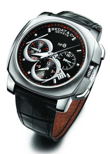 Bedat 867 Chronograph Coussin