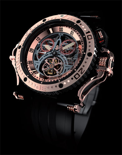 Aquanautic Tourbillon Monopusher