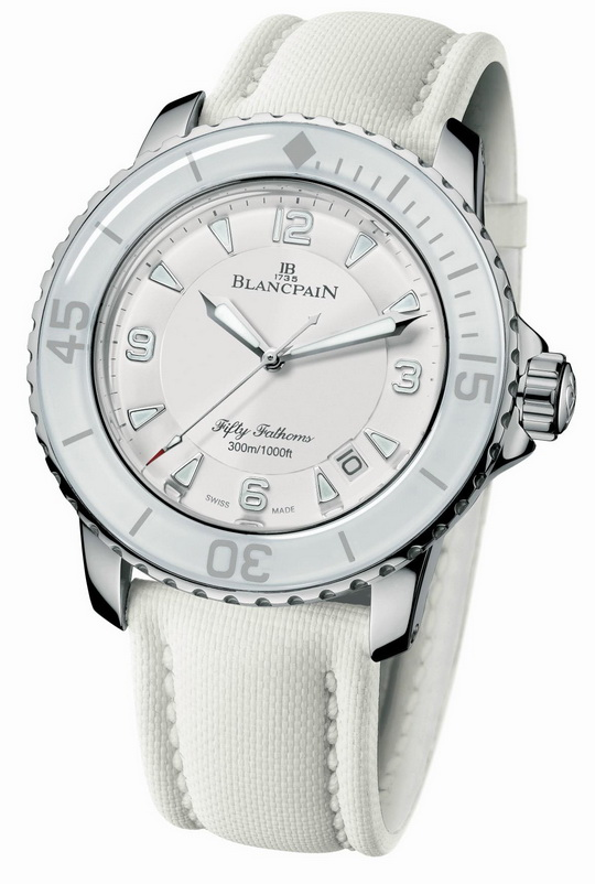 Blancpain Fifty Fathoms All White