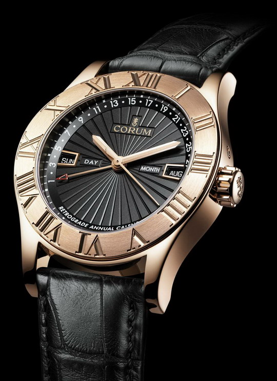 Corum Romvlvs Retrograde Annual Calendar
