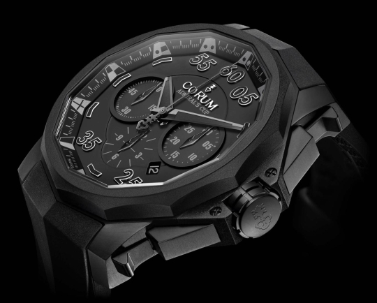 Corum Admiral?s Cup Black Hull 48