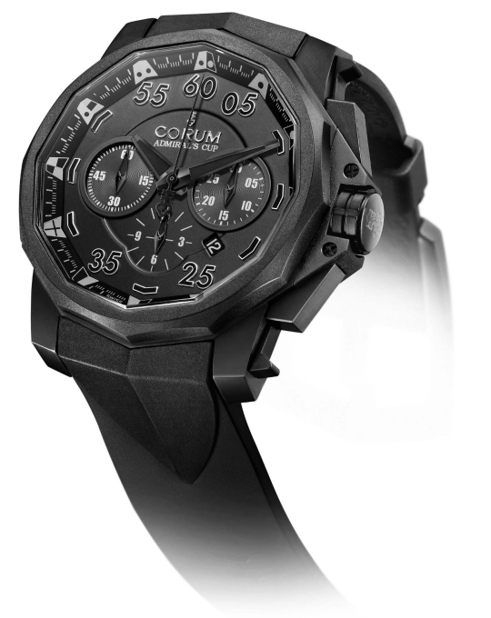 Corum Admirals Cup Black Hull 48