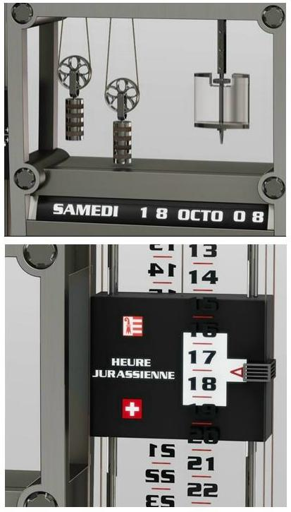 Richard Mille Clock for the Province of Quebec