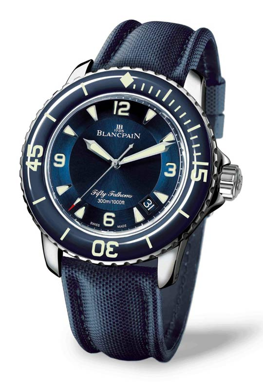 Blancpain Fifty Fathoms Ocean Blue