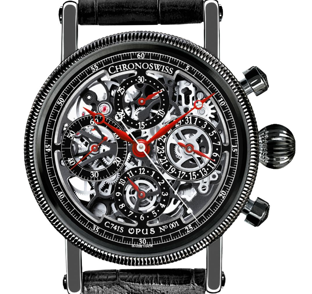 Chronoswiss - Opus Black Magic