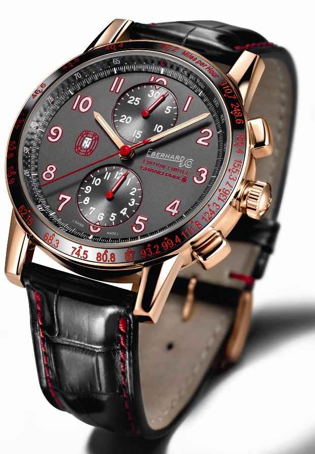 Eberhard Tazio Nuvolari Grand Prix en Or Chronograph