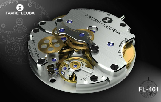 Favre-Leuba New Manufacture Caliber