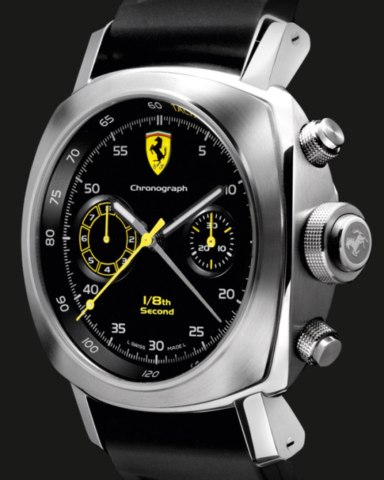 Panerai Ferrari - Scuderia Chrono 1/8th second