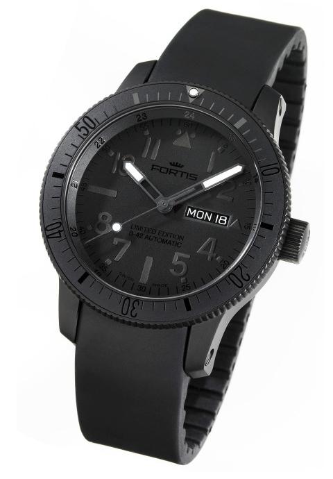 Fortis B-42 Black & Black Titanium