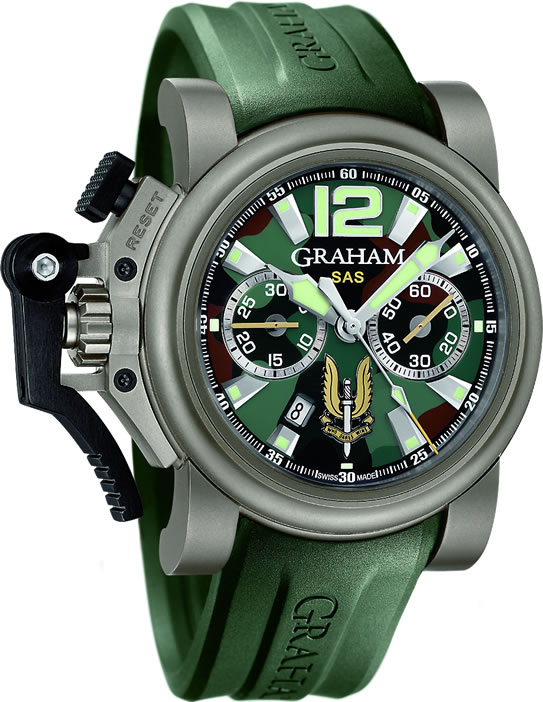 Graham Chronofighter Oversize Titanium SAS