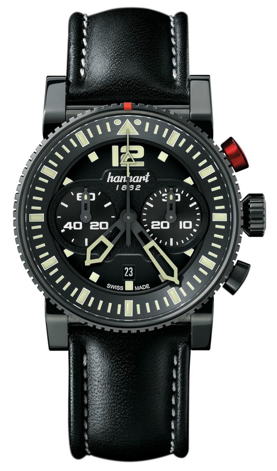 Hanhart Primus All Black Chronograph