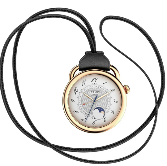 Hermes Arceau Moonphase Retrograde