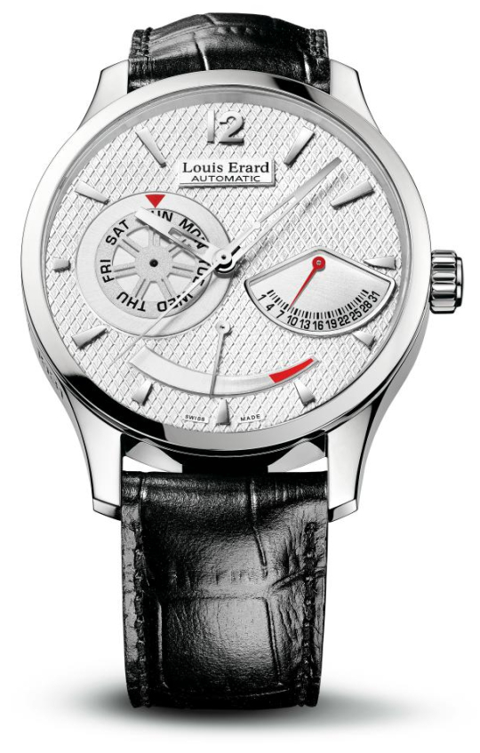 Louis Erard 1931 Retrograde