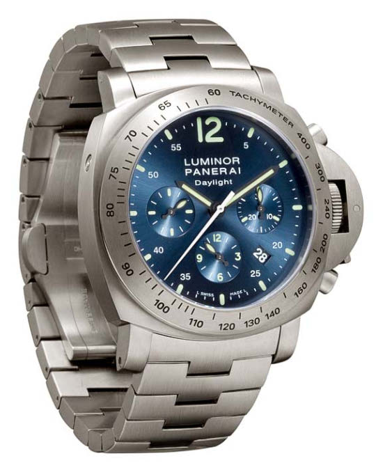 Panerai Luminor Chrono Daylight 44mm Titanium
