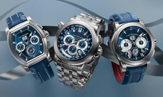 Carl F. Bucherer Patravi Blue Wave Collection