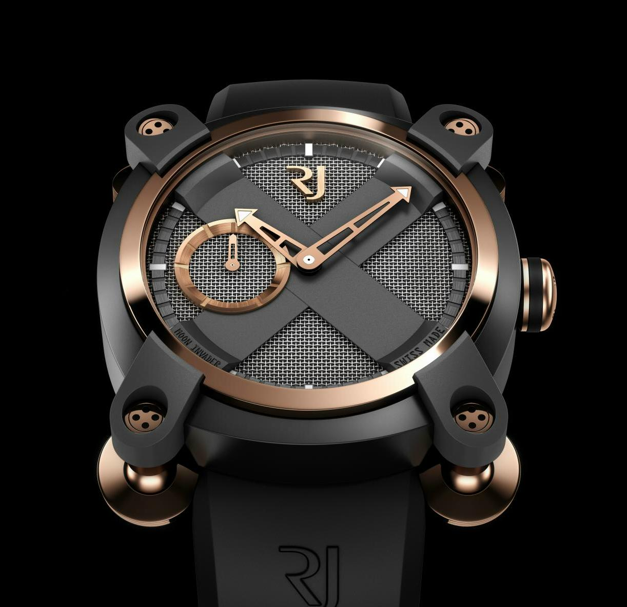 Romain Jerome Moon Invader Eminence Grise Automatic 61c1b95774