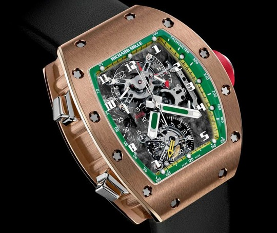 Richard Mille for Felipe Massa RM 004-V2 and RM 008-V2