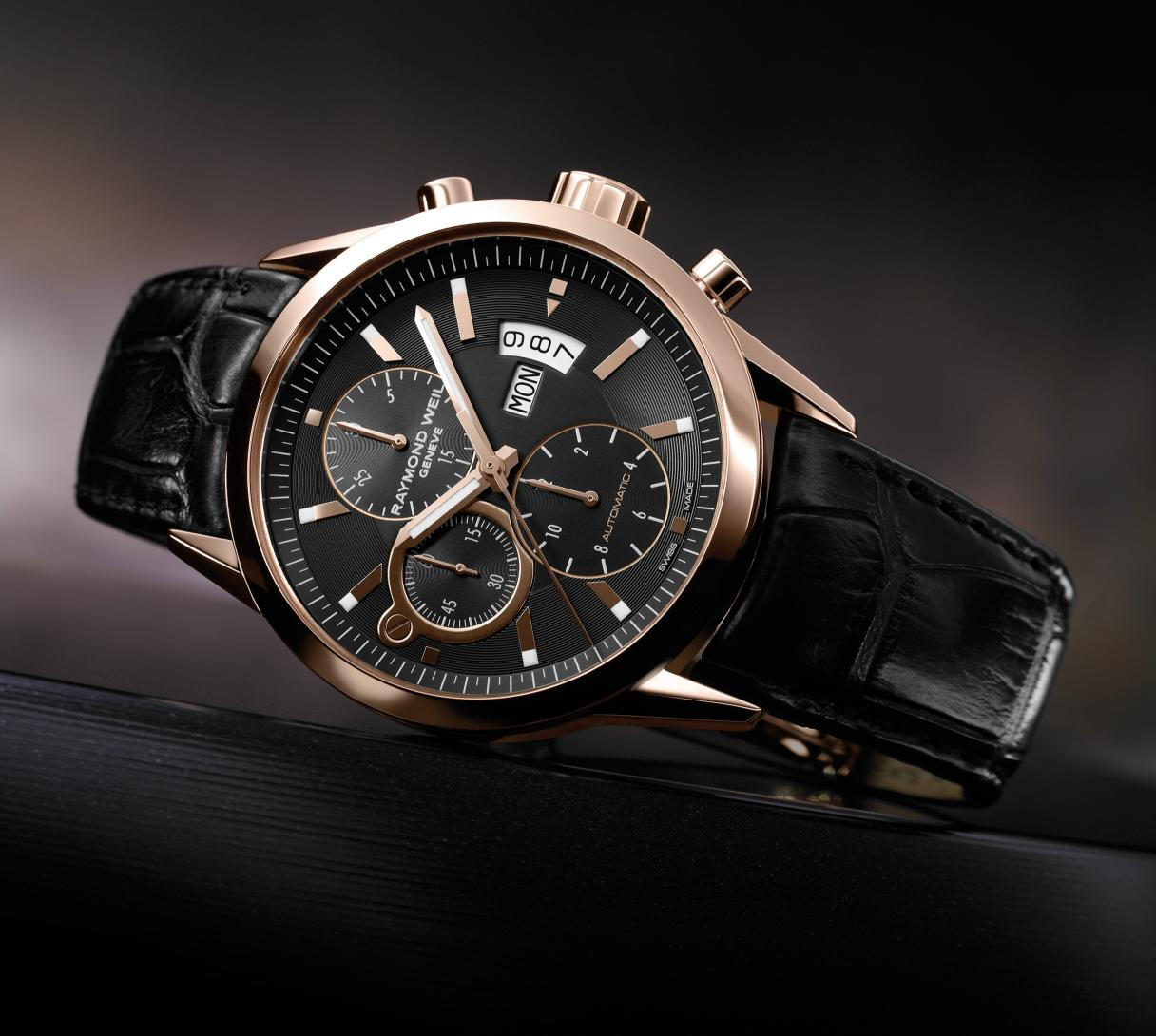 Raymond Weil Freelancer Gold Chronograph