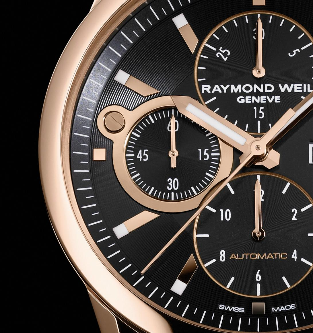Raymond Weil - Freelancer Gold Chronograph
