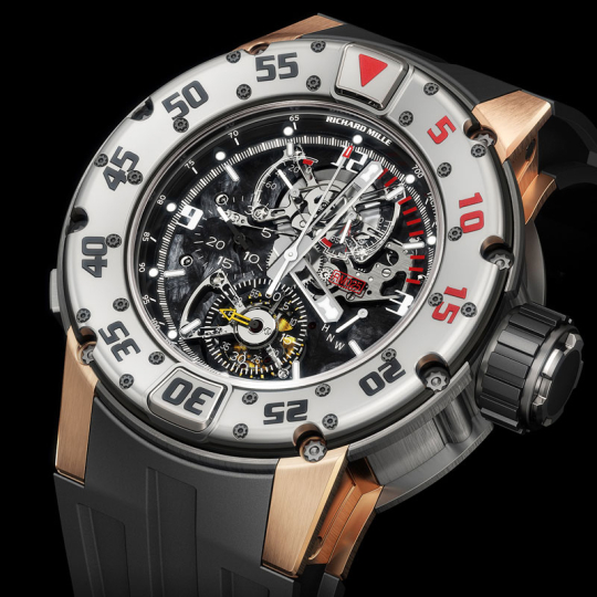 Richard Mille - RM 025 Tourbillon Chronograph Diver
