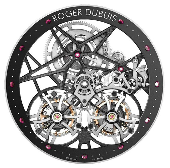 Roger Dubuis Skeleton Double Tourbillon Excalibur