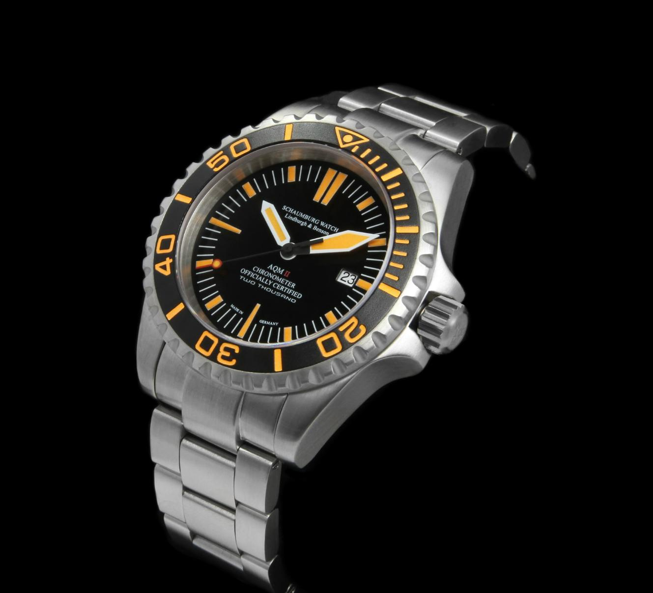 Schaumburg Watch Aquamatic AQM II