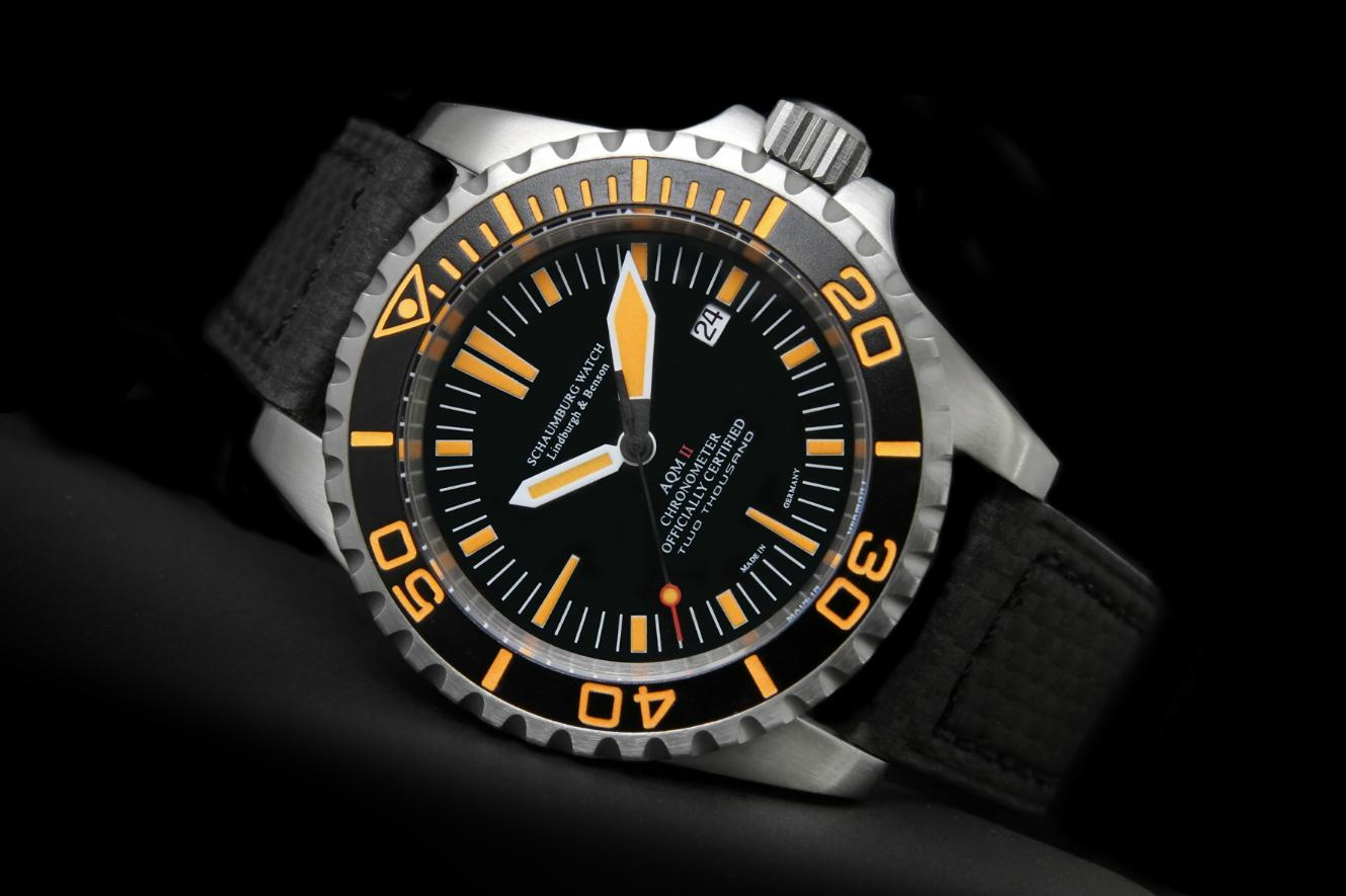 Schaumburg Watch - Aquamatic AQM II