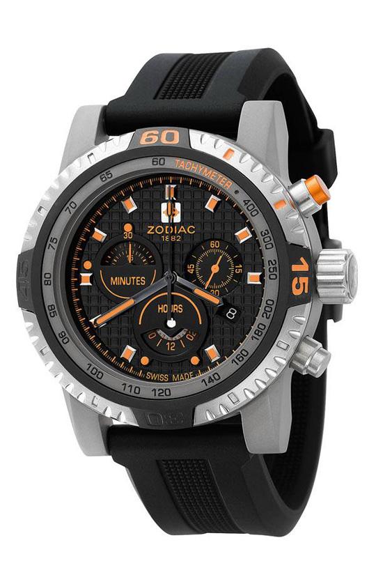 Zodiac Racer Titanium Chronograph