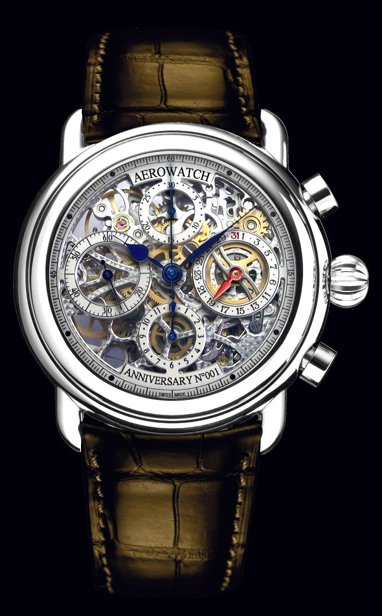 Aerowatch – Anniversary Skeleton Chronograph
