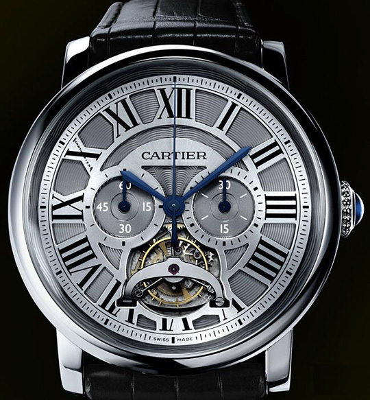 Cartier Rotonde Monopusher Chronograph Tourbillon