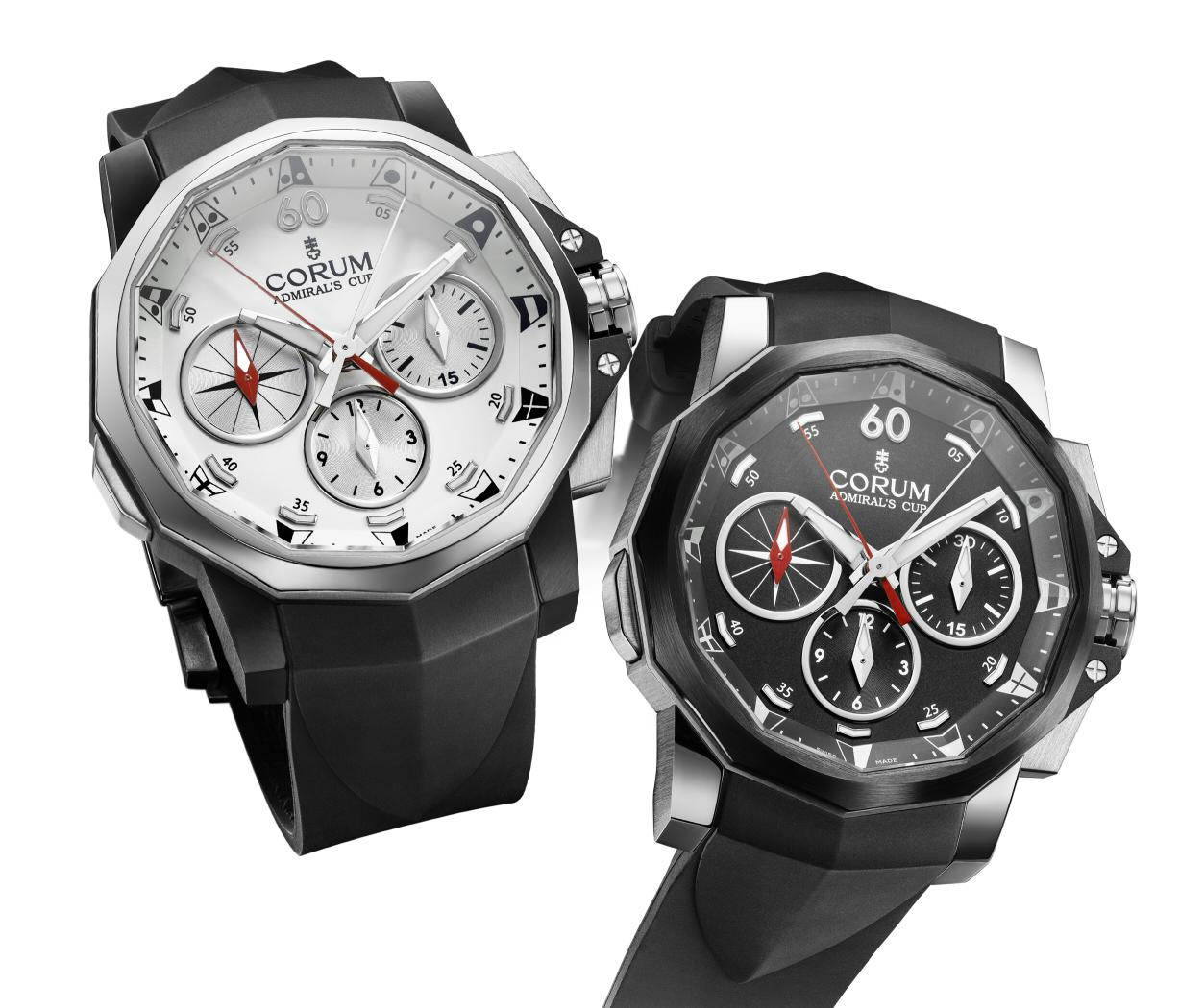 Corum Admiral's Cup Black Split-Seconds 44