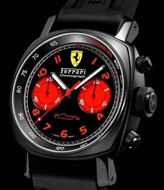 Panerai Ferrari Chronograph DLC
