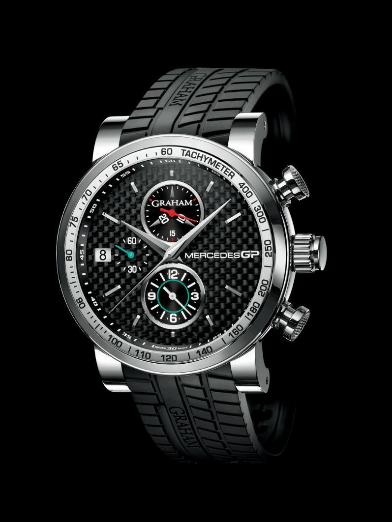 Ajánlott kiskereskedelmi ár  6.400 CHF. Graham - Mercedes GP Silverstone  Chronograph 56e4056cb4