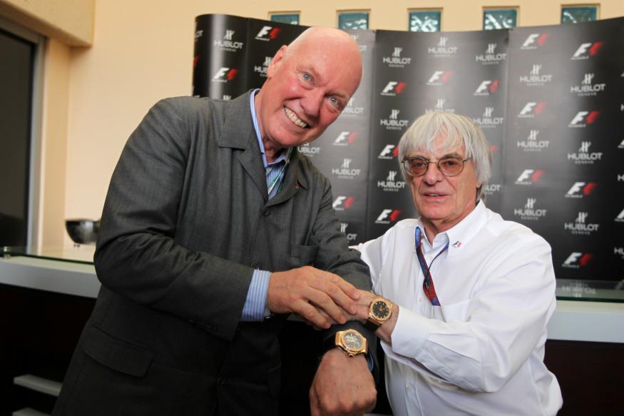Hublot - a Formula 1 hivatalos órakészítője
