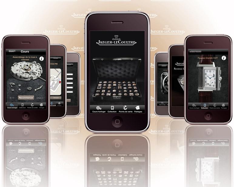 Jaeger-LeCoultre - iPhone és SIHH 2010