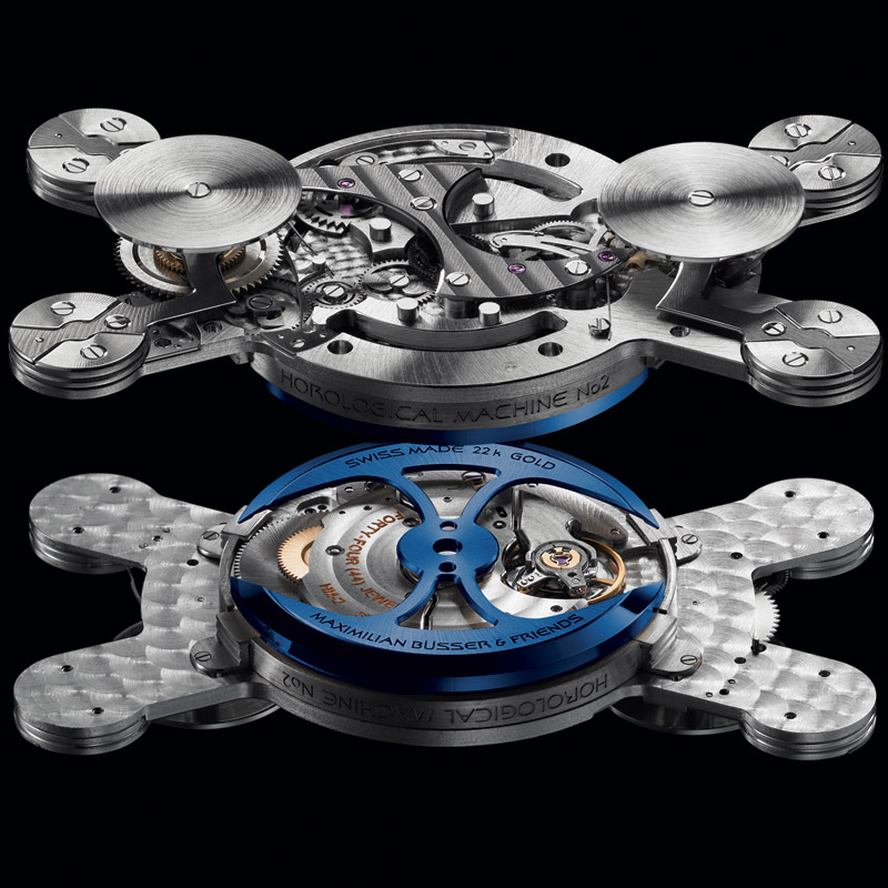 MB&F -  Horological Machine No.2 - Sapphire Vision