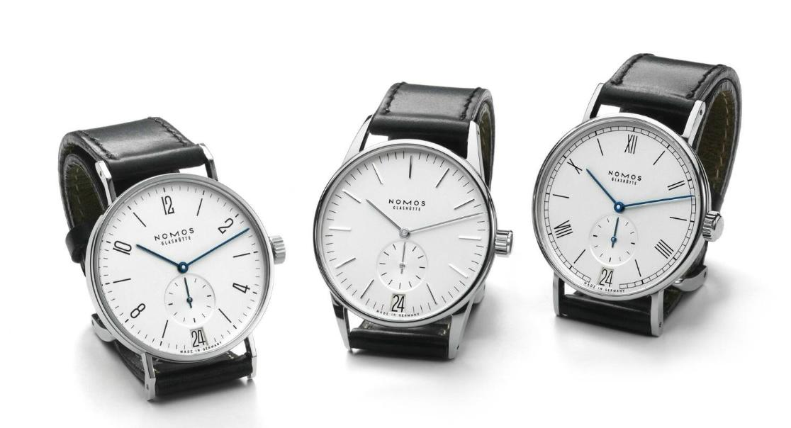 Nomos Tangente Datum, Orion Datum Weiss and Ludwig Datum