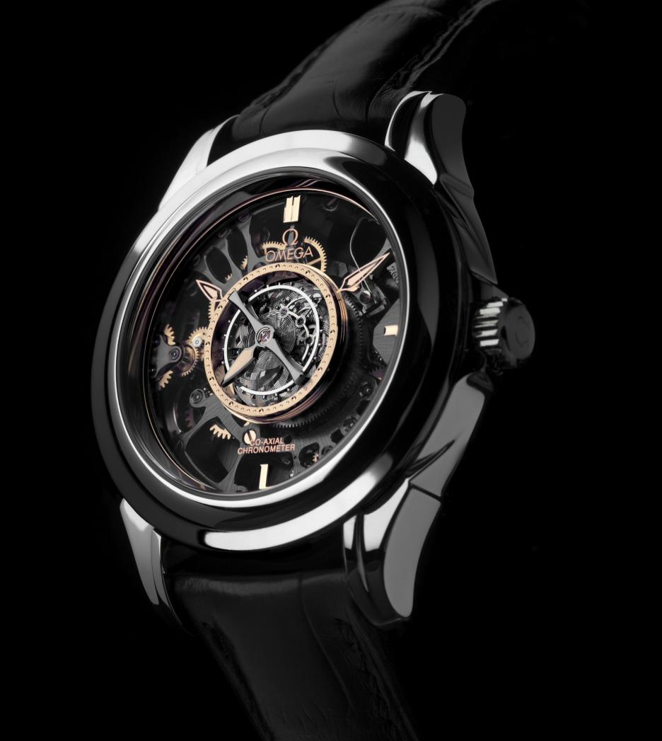 Omega - Central Tourbillon Co-Axial Platinum