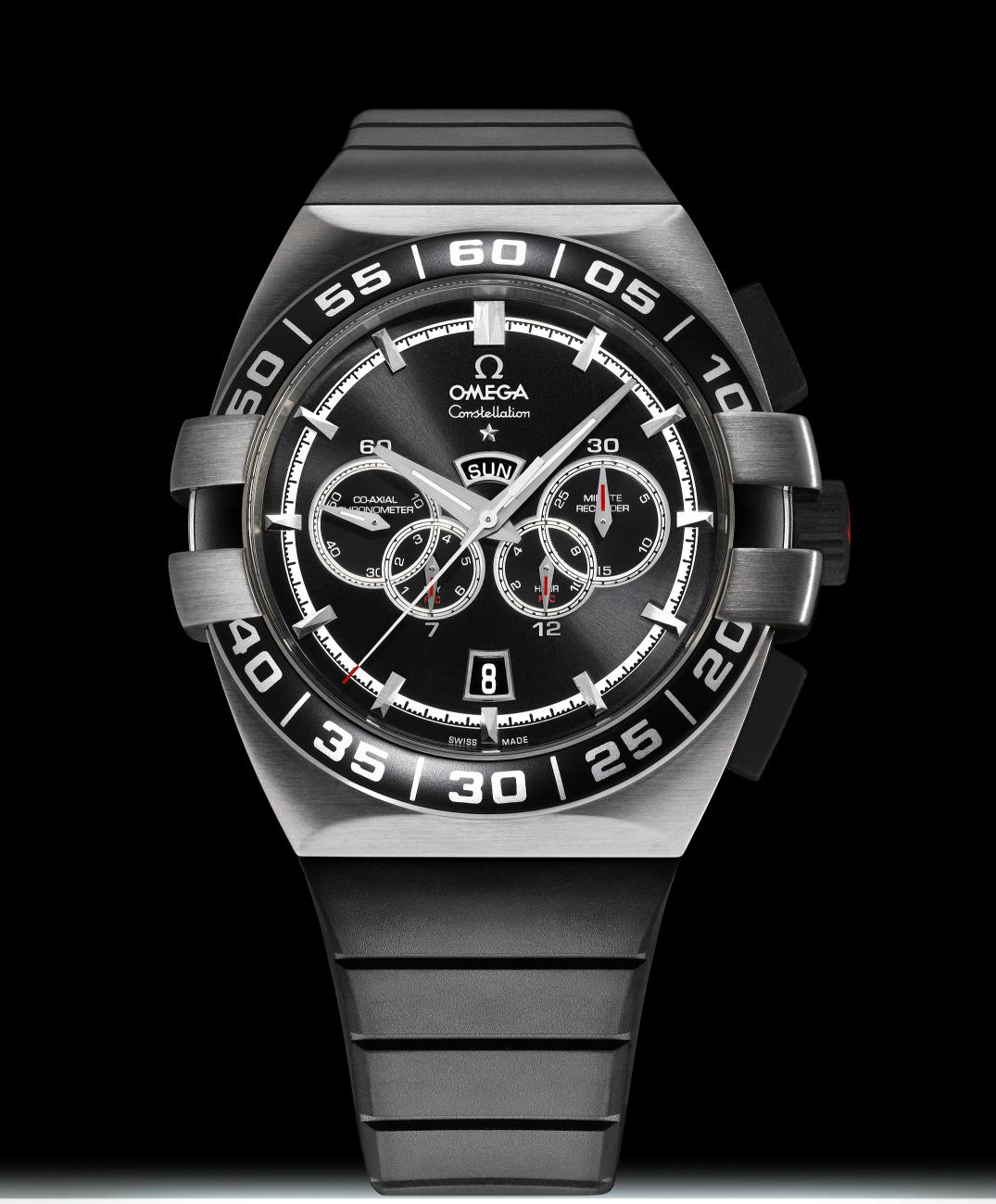 Omega Constellation Double Eagle 4 Counter Chronograph