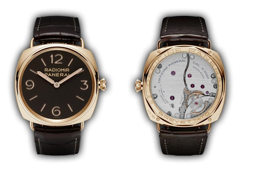 Officine Panerai Radiomir Oro Rosa 3 Days