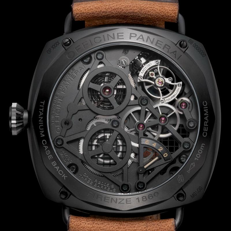 Officine Panerai Radiomir Tourbillon GMT Ceramique