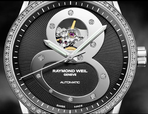 Raymond Weil Freelancer Black 8