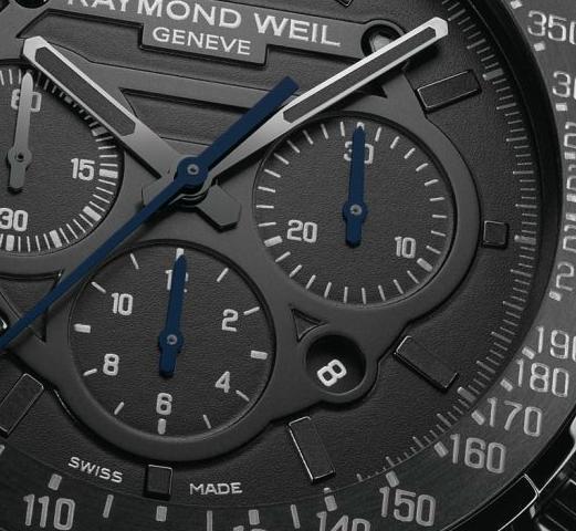 Raymond Weil - Nabucco Rivoluzione Black Chronograph