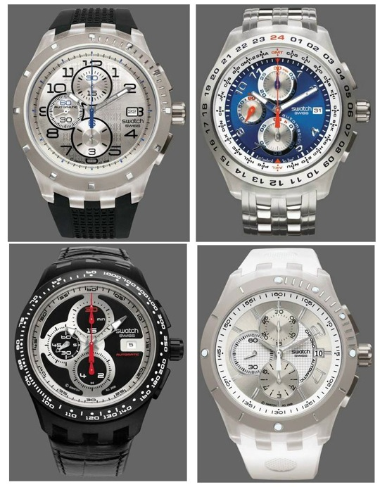 Swatch Automatic Chronographs