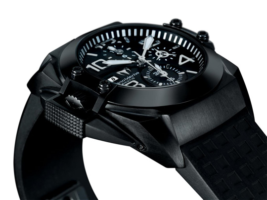Technomarine Black Watch Chronograph Collection